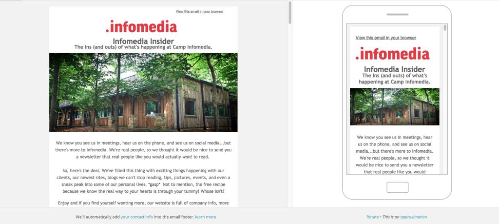 Infomedia Newsletter