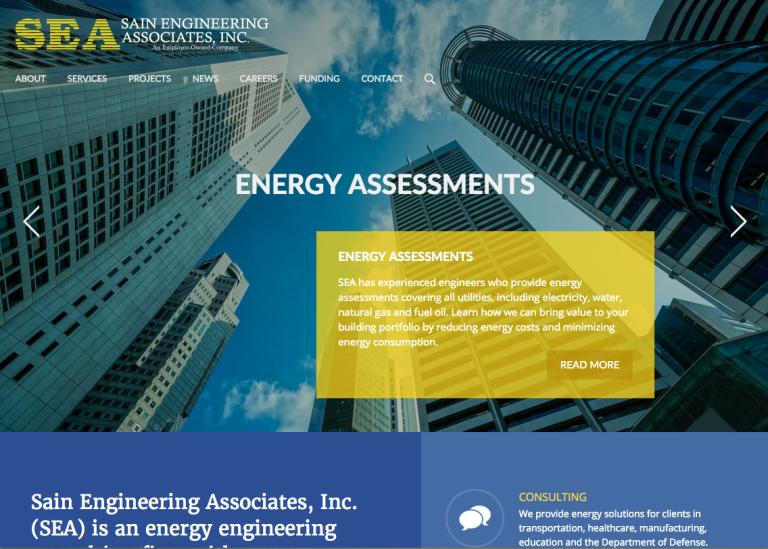 Sain Engineering homepage