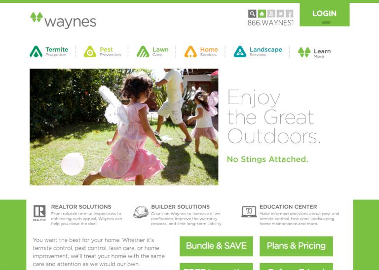 Call Waynes homepage