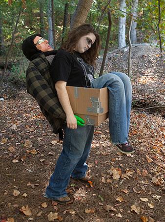 Costume: Dead Girl in a Box Contestant: Pam