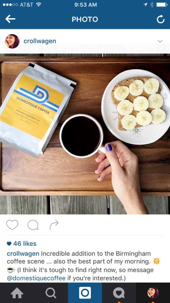 How to tag a company on instagram